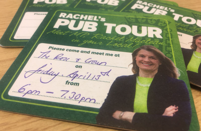 Come and meet Rachel at the Rose & Crown in Feckenham