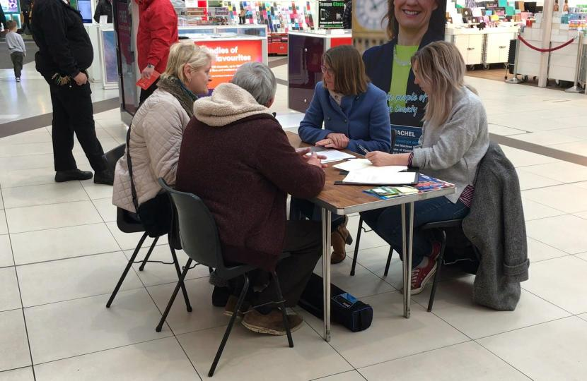 Come and meet Rachel at the Kingfisher Shopping Centre