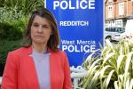 Rachel is reassured by Redditch Police following Finsbury Park attack