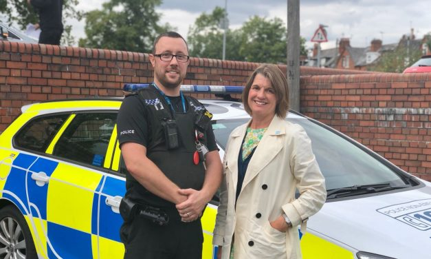 Rachel backs PCC's plans to recruit 115 officers for West Mercia