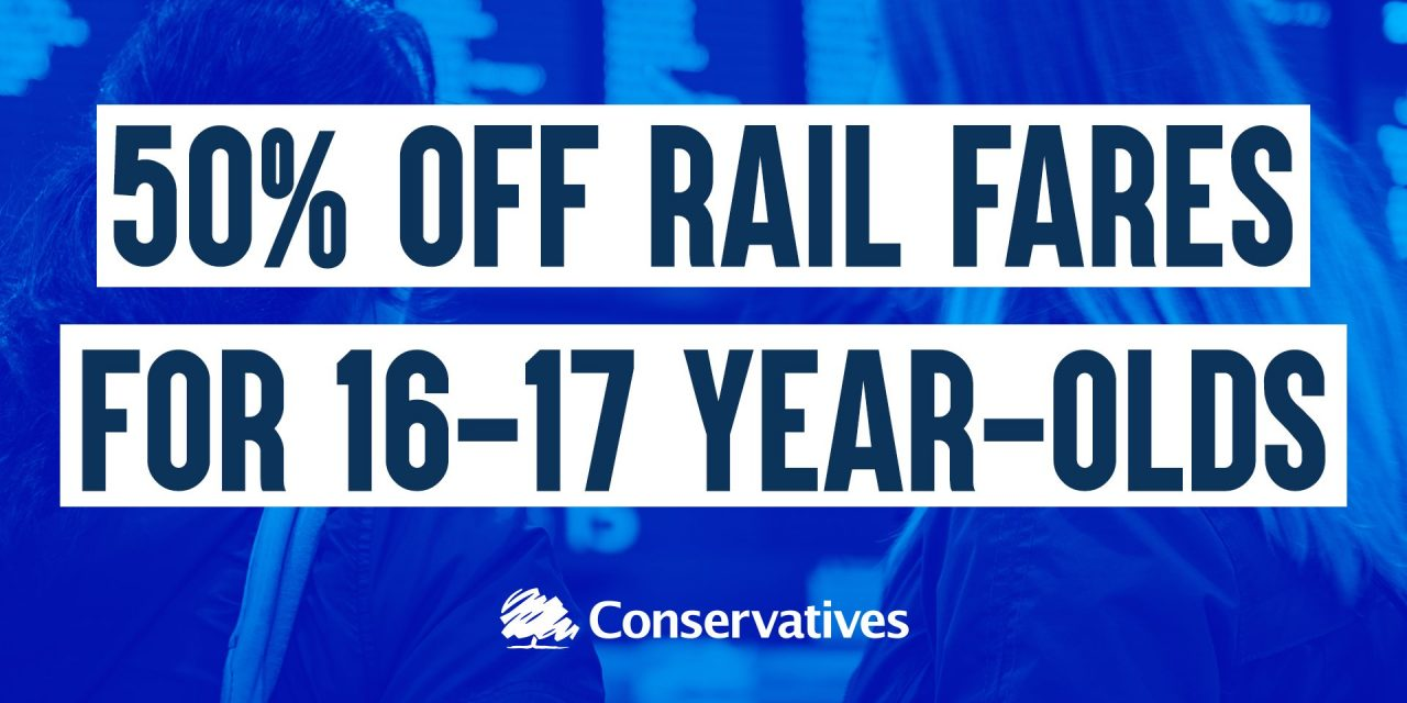 Rachel welcomes new railcards slashing fares for young people in Redditch