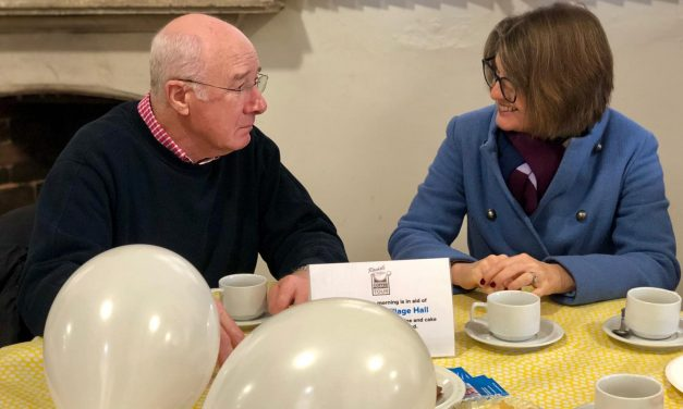 Rachel's Rous Lench coffee morning proves popular with villagers