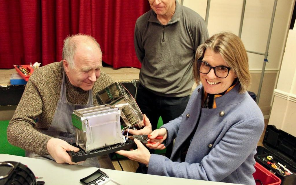 Rachel urges residents to get Redditch Repair Café to fix their broken items