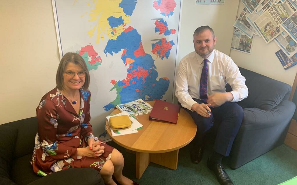 Rachel meets Business Minister to discuss West Midlands Local Industrial Strategy