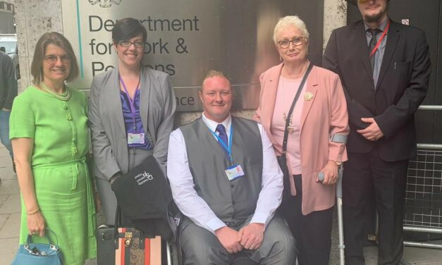 Rachel hosts Redditch based Disability Support Project for meeting with Minister for Disabled People