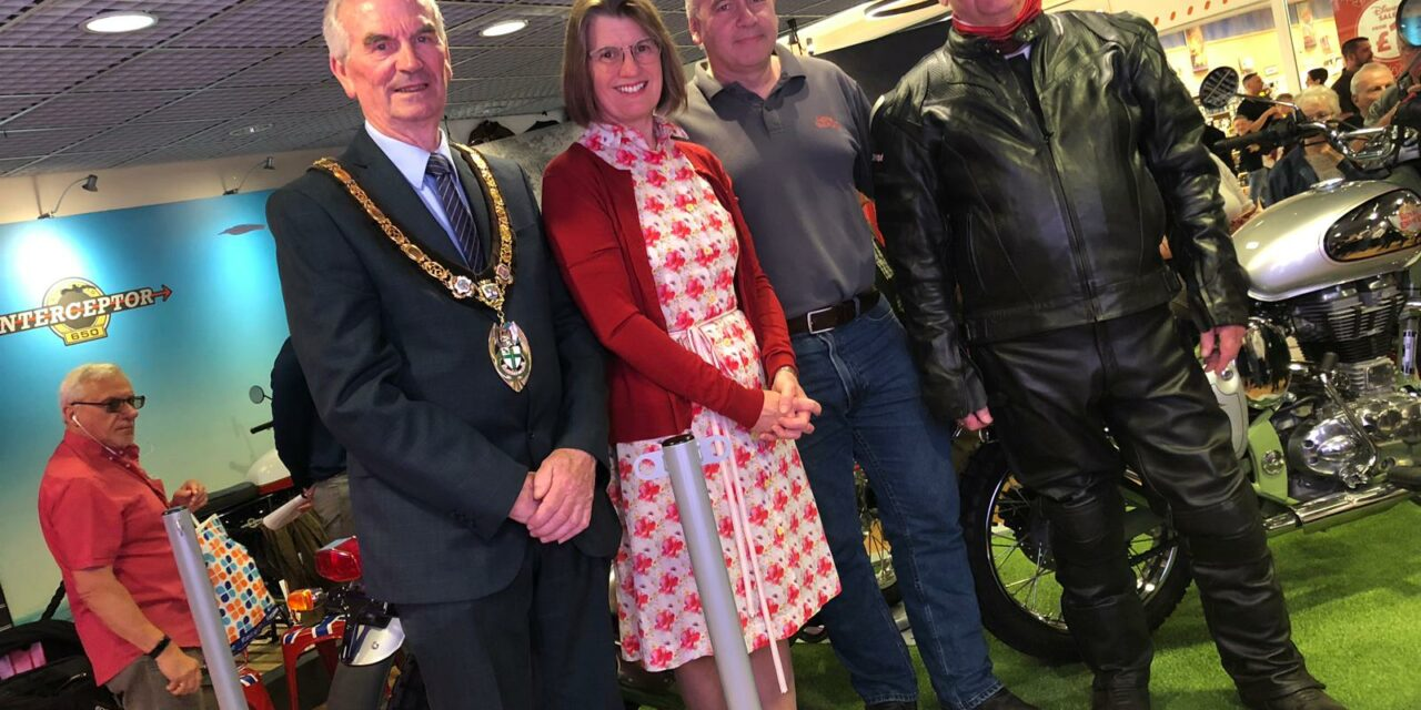 Rachel encourages residents to visit Royal Enfield's exhibition