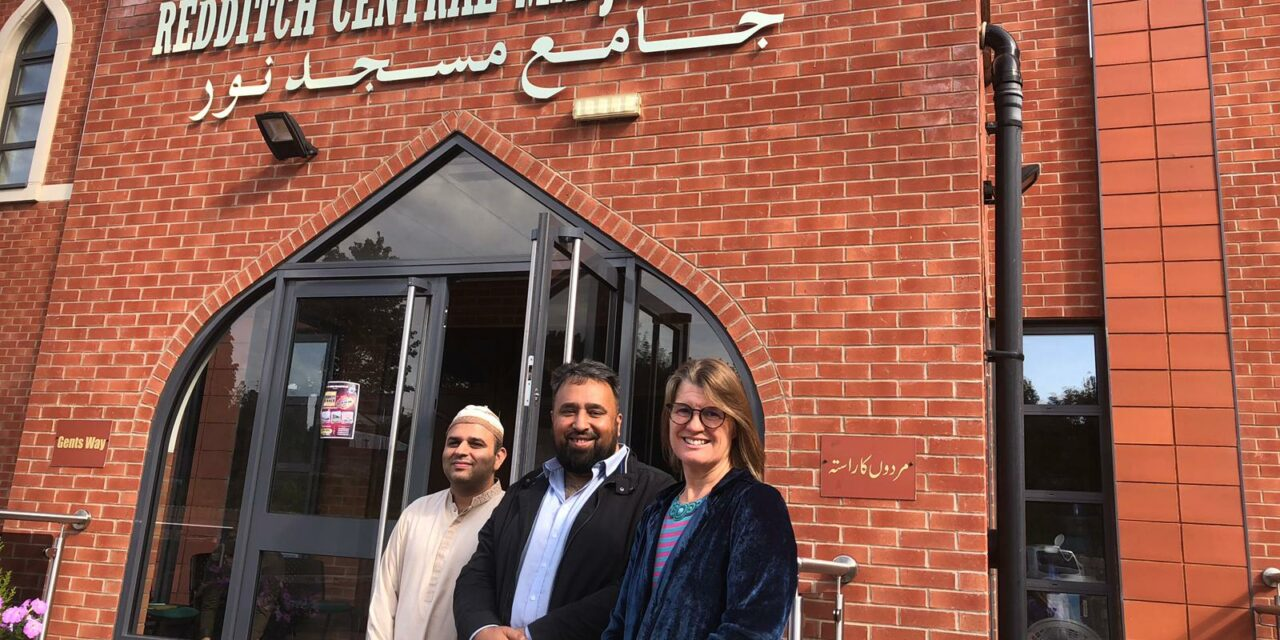 Rachel writes to Foreign Secretary following Redditch mosque visit