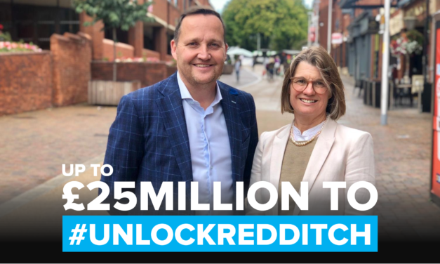 Rachel issues rallying call ahead of inaugural Redditch Town Deal meeting