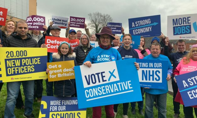 Rachel launches her seven-point plan for Redditch