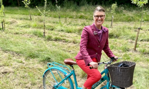 Rachel welcomes Government's cycling strategy