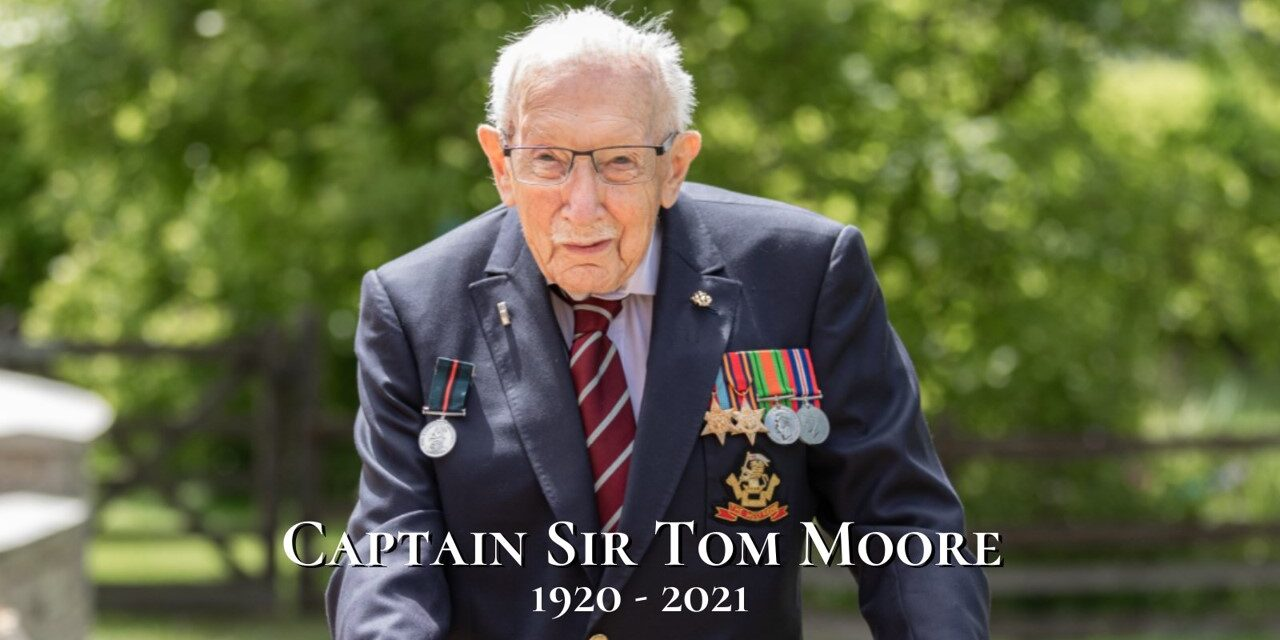 Rachel pays tribute to Captain Sir Tom Moore