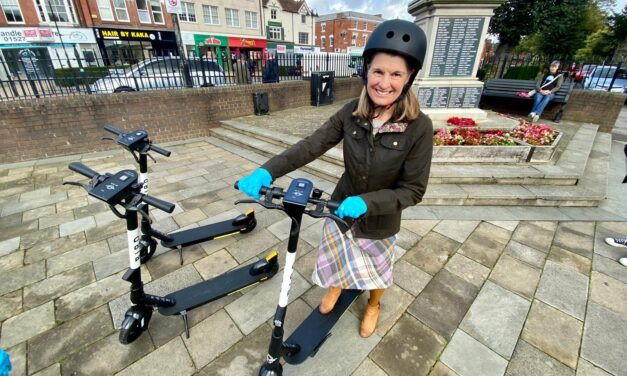 """""""I'm still proud Redditch is one of the e-scooter trial areas in the country"""""""