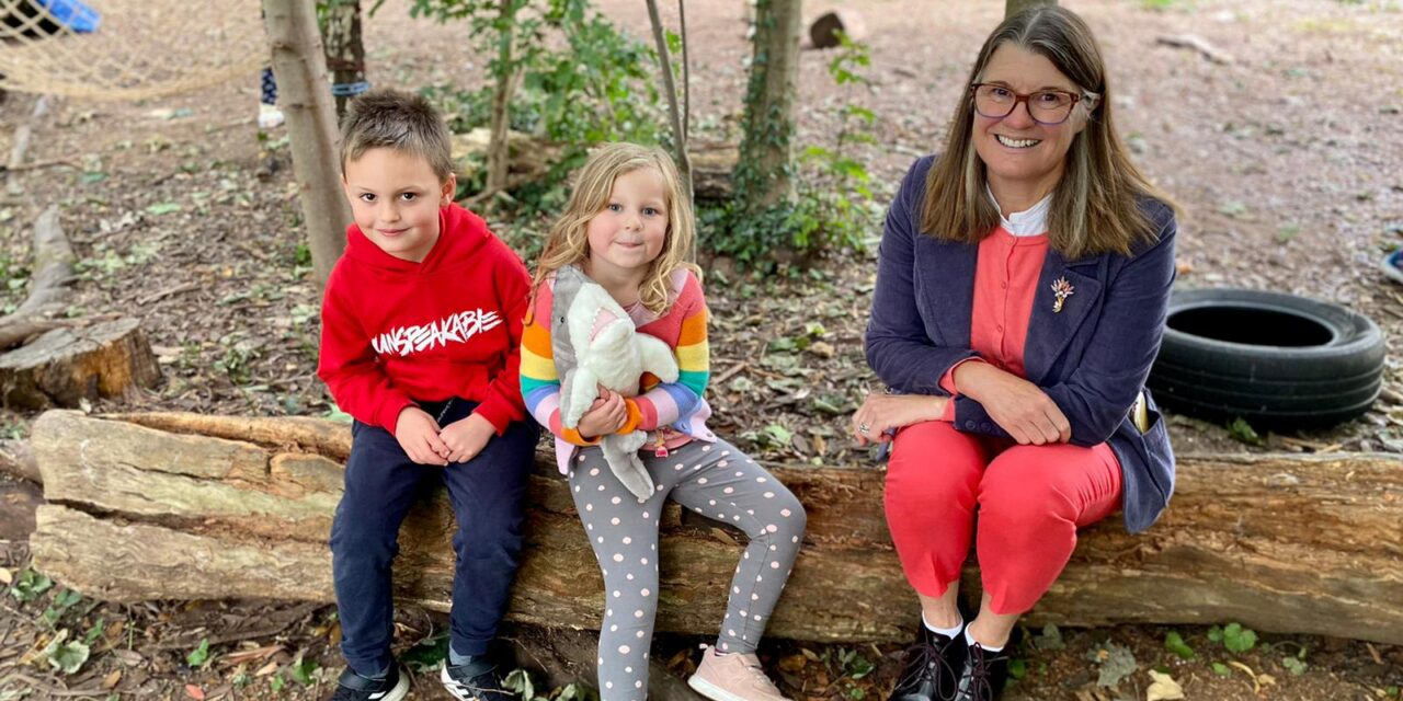 Rachel praises support for children following out-of-school club visit