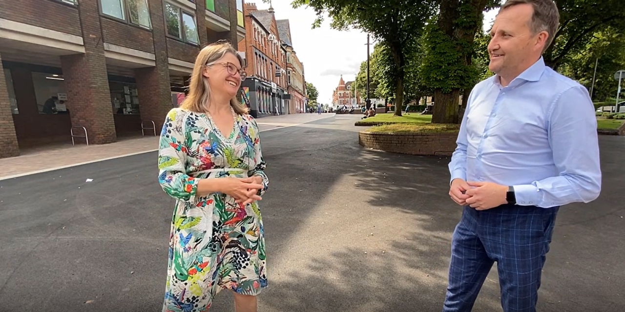 Unlocking the full potential of Redditch's town centre