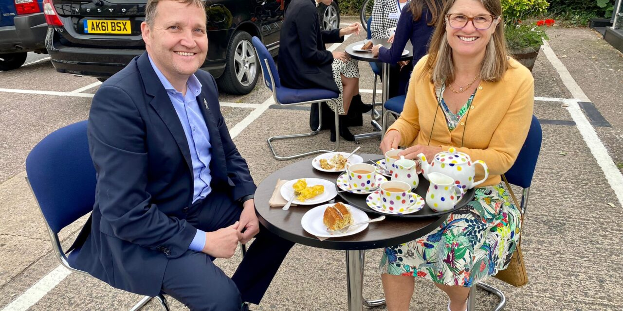 Rachel supports the World's Biggest Coffee Morning for Macmillan