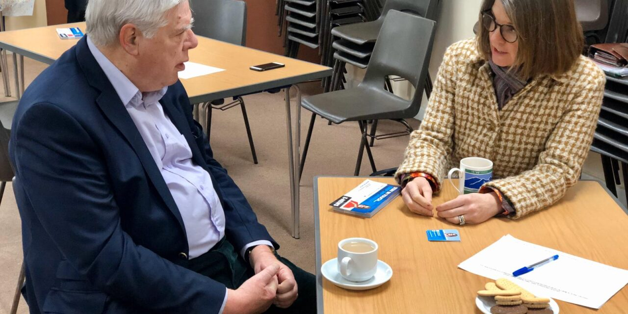 Rachel to hold pop-up surgeries across the constituency